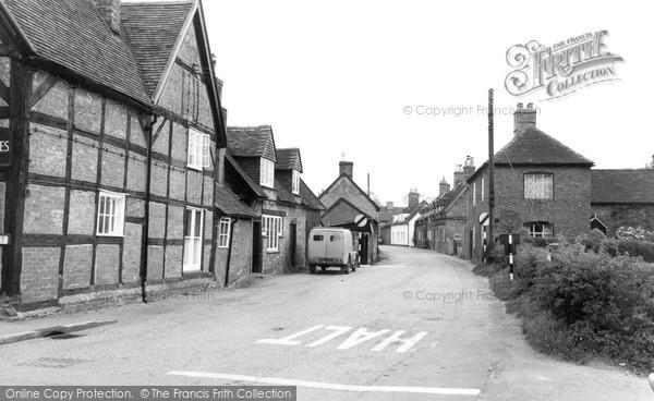 Photo of Yoxall, Main Street c.1955