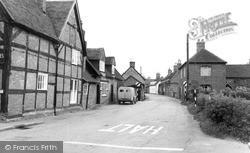 Yoxall, Main Street c.1955