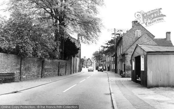 Photo of Yoxall, Main Street c.1965