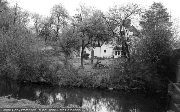 Photo of Yoxall, River Cottage c.1965