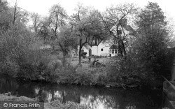 Yoxall, River Cottage c.1965
