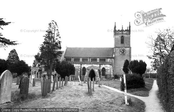 Photo of Yoxall, St Peter's Church c.1965