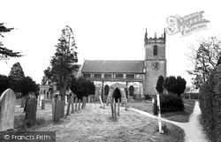 St Peter's Church c.1965, Yoxall