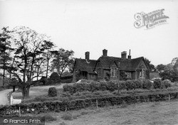 The Cottage Hospital c.1955, Yoxall