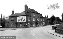 The Golden Cup And Main Street c.1965, Yoxall