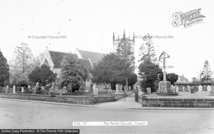 Photo of Yoxall, The Parish Church c.1955