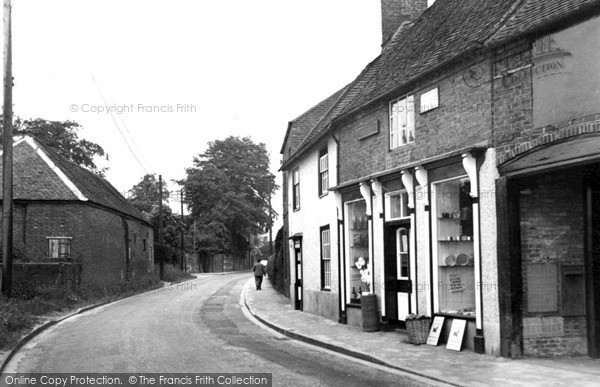 Photo of Yoxall, The Post Office c.1955