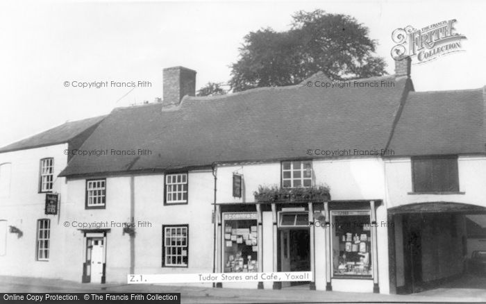 Photo of Yoxall, Tudor Stores And Cafe c.1955