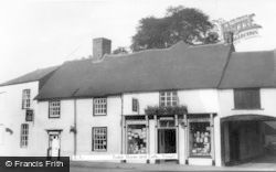 Yoxall, Tudor Stores And Cafe c.1955