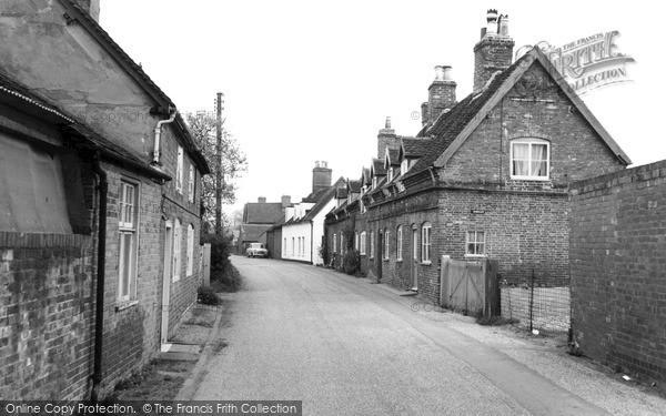 Photo of Yoxall, Victoria Street c.1955