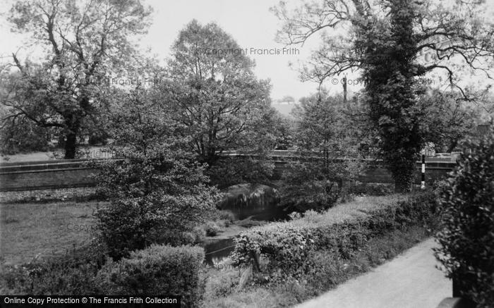 Photo of Yoxall, Wood Lane Bridge c.1955