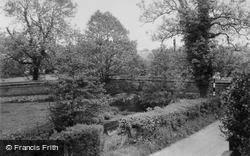 Wood Lane Bridge c.1955, Yoxall