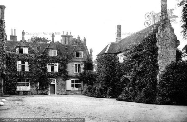 Photo of Yoxford, Cockfield Hall 1909
