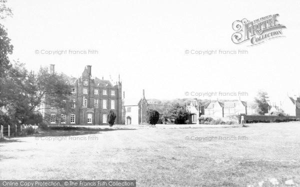 Photo of Yoxford, Cockfield Hall c.1965