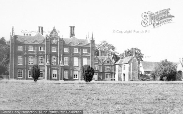 Photo of Yoxford, Cockfield Hall c.1965