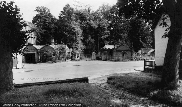 Photo of Yoxford, Cockfield Hall Lodge c.1960