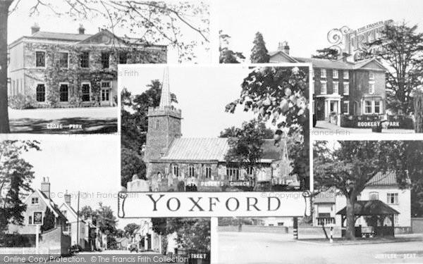 Photo of Yoxford, Composite c.1950