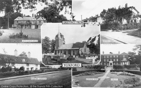 Photo of Yoxford, Composite c.1960