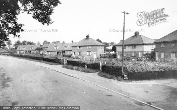 Photo of Yoxford, Grove Side c.1960