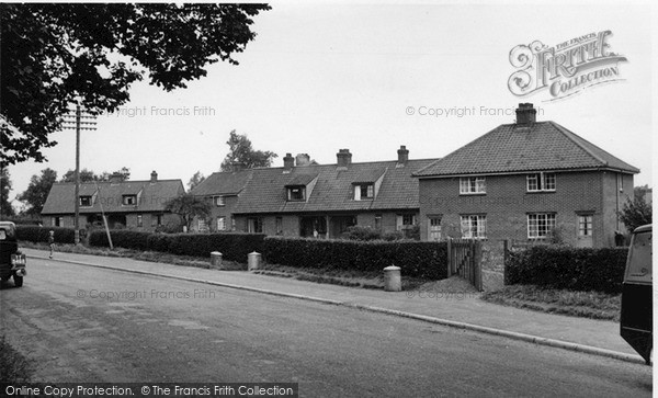 Photo of Yoxford, Groveside c.1955