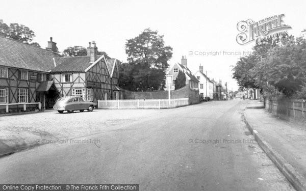 Photo of Yoxford, High Street c.1955