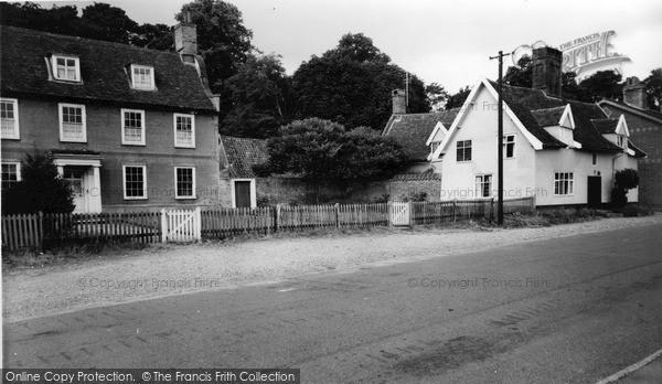 Photo of Yoxford, Hope House c.1960