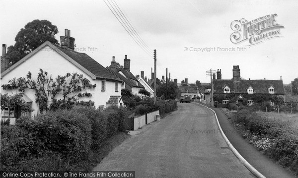 Photo of Yoxford, Little Street c.1955