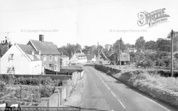 Photo of Yoxford, Little Street c.1965