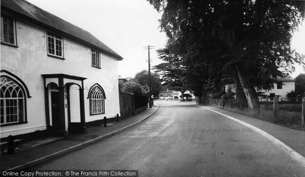 Photo of Yoxford, Main Road c.1960