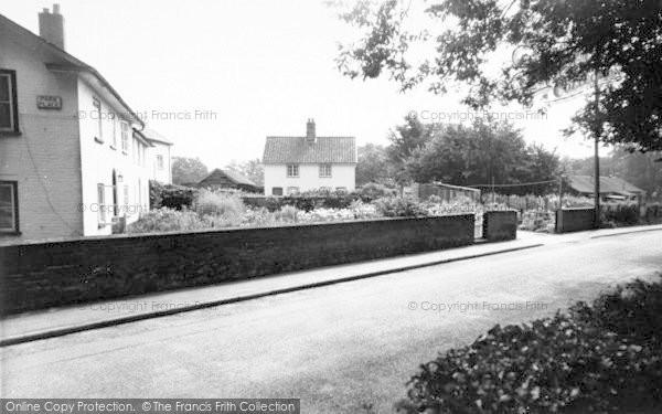 Photo of Yoxford, Park Place c.1960