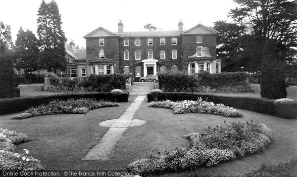 Photo of Yoxford, Rookery Park c.1960