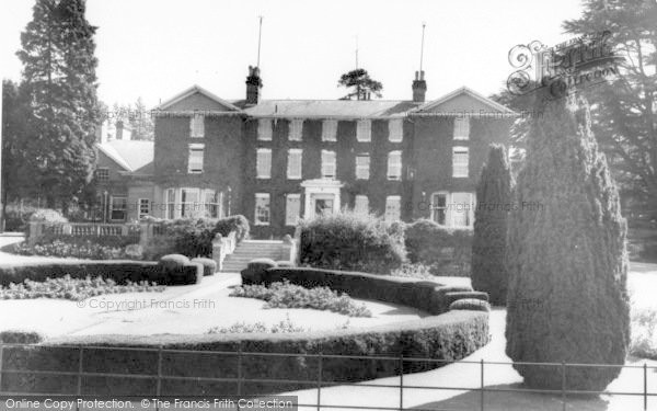 Photo of Yoxford, Rookery Park c.1965