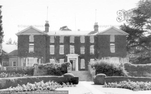 Photo of Yoxford, Rookery Park c.1965