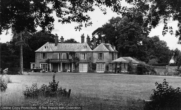 Photo of Yoxford, Satis Guest House c.1955