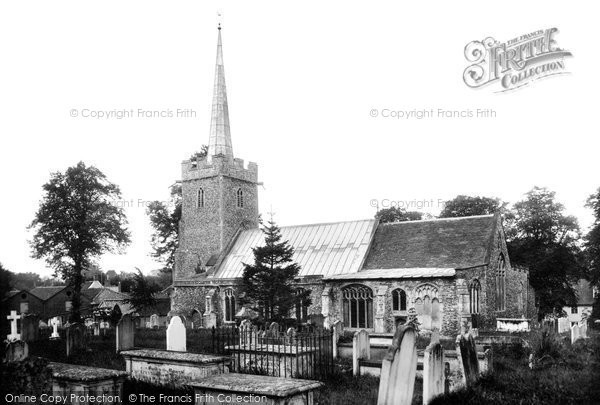 Photo of Yoxford, St Peter's Church 1909