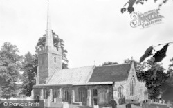 Yoxford, St Peter's Church c.1955