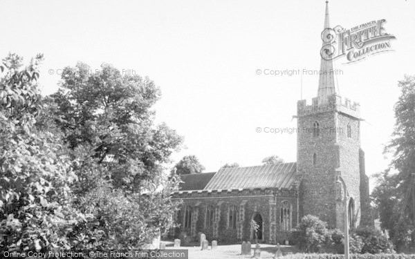 Photo of Yoxford, St Peter's Church c.1965