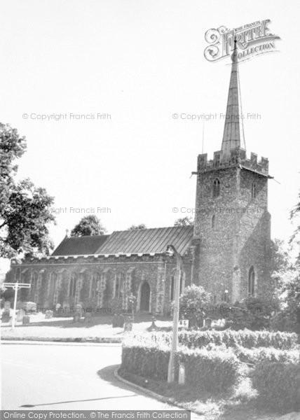 Photo of Yoxford, St Peter's Church c.1965