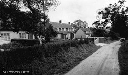 Yoxford, Strickland Manor Hill c.1960