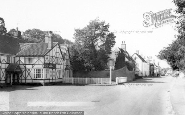 Photo of Yoxford, The Griffin And High Street c.1965