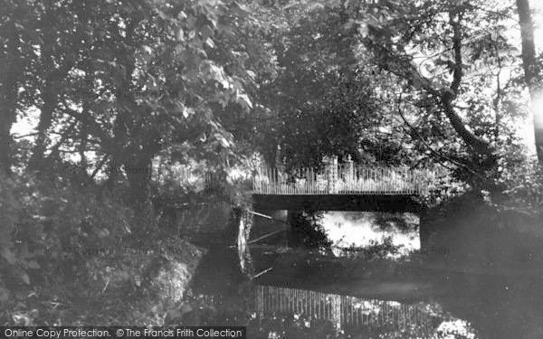 Photo of Yoxford, The River c.1955