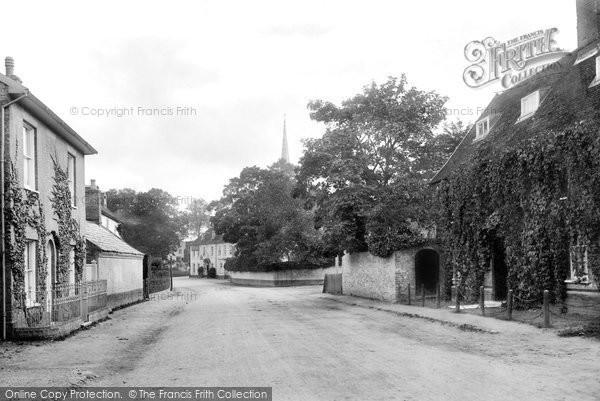 Photo of Yoxford, The Village 1909