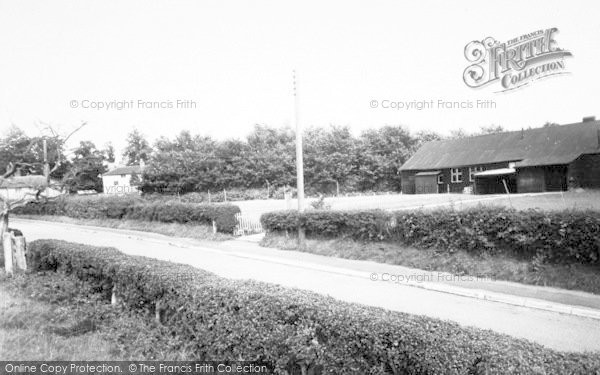 Photo of Yoxford, The Village Club c.1955