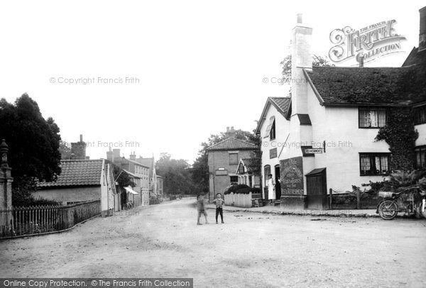 Photo of Yoxford, Village 1909
