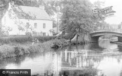 Ystalyfera, Aubrey Bridge c.1955