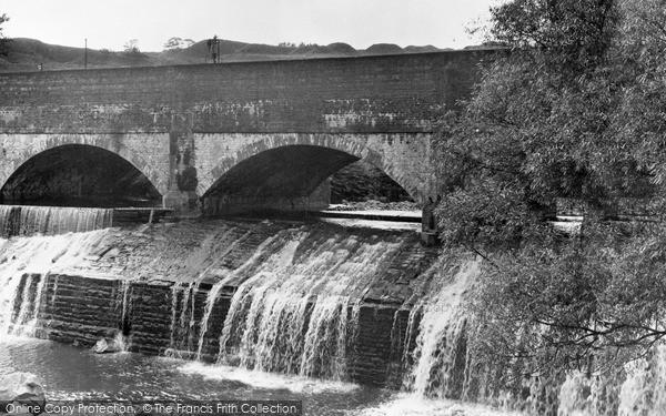 Photo of Ystalyfera, Canal And Waterfall c.1955