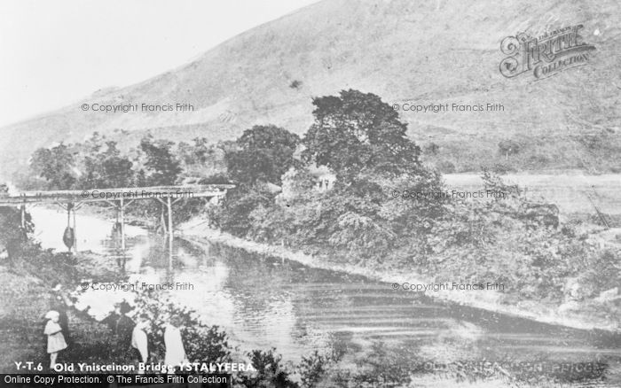 Photo of Ystalyfera, Old Ynisceinon Bridge c.1930