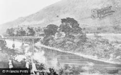 Old Ynisceinon Bridge c.1930, Ystalyfera