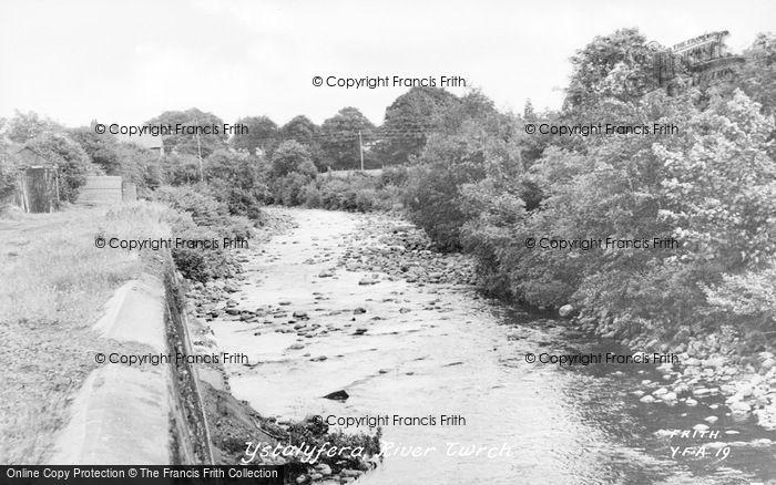 Photo of Ystalyfera, River Twrch c.1955