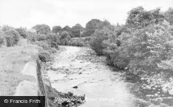 Ystalyfera, River Twrch c.1955